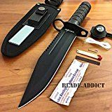 12-Tactical-Hunting-Rambo-Combat-Fixed-Blade-Knife-Machete-Bowie-Survival-Kit