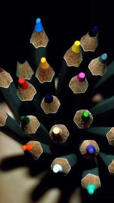 .Lápis de côr