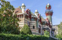El Capricho de Gaudí, Comillas, Cantabria