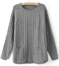 It's not nearly cold enough for sweaters down here in the QC, but I'm lusting after big baggy ones like this.