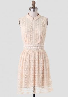 Show Me The Ring Lace Dress