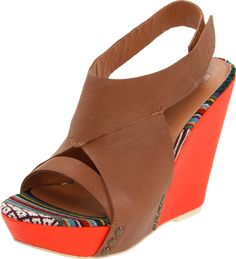 Amazon.com: Joe's Jeans Women's Tyra Wedge Sandal: Shoes
