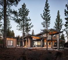 This modern Martis Dunsmuirfamily house designed by Sagemodern is located near Lake Tahoe, California. The layout for this home looks very comfort and open yet keeping the privacy needed. The house is created using prefabricated modules same time keeping mind the environment conscious design and use of modern sustainable materials. Wood and stone materials used in the building makes this beautiful house fit perfectly to its surrounding nature. Impacts of scandinavian simplicity and clear…