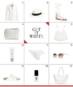 Mizhattan - Sensible living with style: *FRIDAY FRUGAL FINDS* Get It White