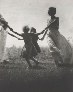 Jacket cover, Mother and Child; c1940 Nell Dorr