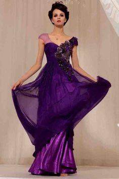 Royal Purple Dress