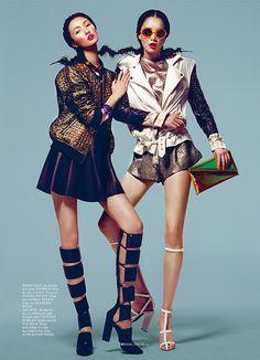 elle vietnam march 2013 kevin sinclair 08 Elle Vietnam | Editorial Moda Março 2013 | Sung Hee, Wang Xiao e Jay Shin