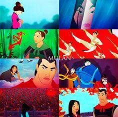 Mulan-All time favorite Disney movie
