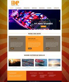 Maqueta de Sitio Web para BCP