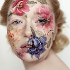 цветы на лице: 20 тыс изображений найдено в Яндекс.Картинках
