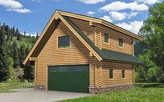 Studio Garage Log Cabin