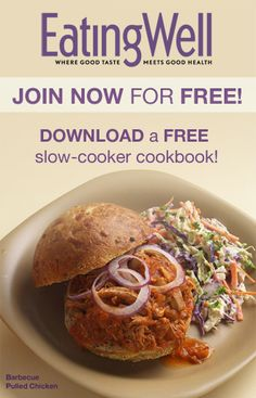 Join EatingWell for FREE and Download a FREE Cookbook with Quick Breakfast Recipes
