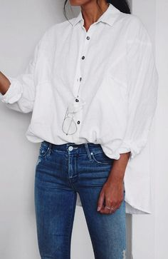 How to mix shirt with jeans
