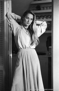 Meryl Streep in Manhattan.
