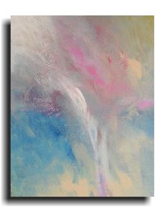 Abstract painting Acrylic Original painting by skyetaylorgalleries, $125.00