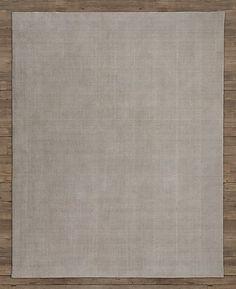 Distressed Wool Rug