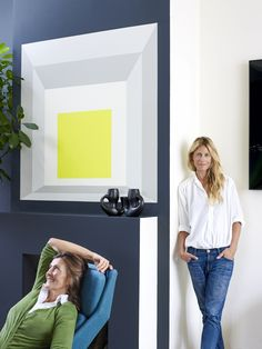 Florence Lopez is a Paris antiquaire specializing in top-drawer 20th-century modernist design. She's also an interior designer with a background in fine art,who for a few special clients fully imagines spectacular settings for her furniture. For model Natacha Senechal and family, she recently transformed a hospital-white, 1,400-square-footloft into a color-blocked homage to pioneer abstract painter […]
