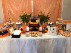 18th Birthday cake table