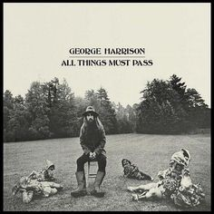 George harrison - doing a good garden gnome impression