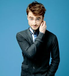 Daniel Radcliffe photographed by Dale May for Mental Floss...