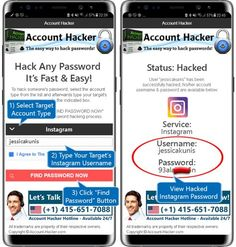 Hack Instagram Passwords on Android Android Phone Hacks, Cell Phone Hacks, Hacking Apps For Android, Smartphone Hacks, Iphone Hacks, Free Password, Hack Password, Hacking Codes, Instagram Password Hack