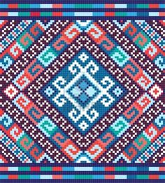 Ukrainian ethnic seamless ornament Stock Photo - 10819072