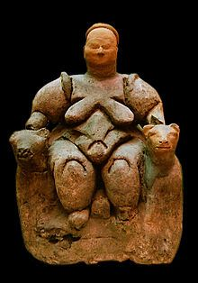 """Mother goddess - Wikipedia. """"Neolithic Çatalhöyük in Anatolia have been interpreted as evidence of a mother-goddess cult, c.7500 BCE"""""""