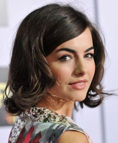 Camilla Belle: Channeling Jackie O.: Daily Beauty Reporter :  Camille Belle is the face of Vera Wang's Princess, but at the Los Angeles premiere of Push, she was looking way more like the Queen of Camelot—check out her new Jackie O flip. It's a total 180 from Belle's...