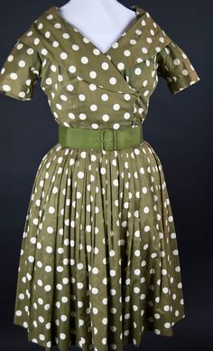 Costume Archive | Women's Day Dress 1940-1950