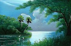 Select paintings by Florida Highwaymen artist Al Black