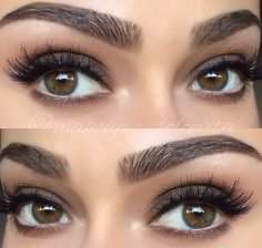 Eyebrow envy. I need to learn how pencil my thick brows