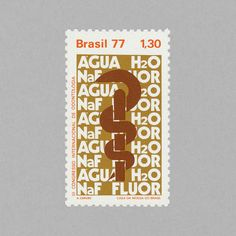 Third International Congress of Odontology. Brazil, 1977. Design: A. Carvão. #mnh #mintneverhinged #mnh_bra #postagestamps #brazil