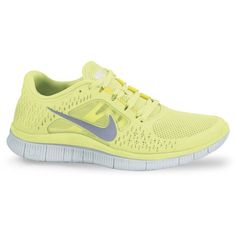 Nike Sneakers - Free Run+ 3 ($100) ❤ liked on Polyvore