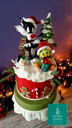 Tweety & Sylvester Cake