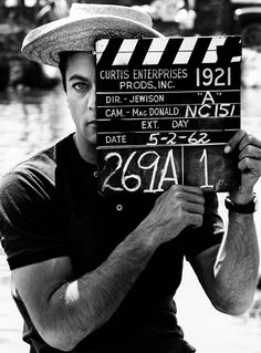 Tony Curtis. On the set.40 Pounds of Trouble. In 1962. Through the lens of Leo Fuchs.