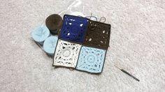 요로케 쭈욱 16 번만 더하믄 돼 아이 좋아  눈물나  흑흑 #모티브블랭킷 #모티브 #뜨개블랭킷 #뜨개스타스램 #crochet #crochetblanket #crochetsofinstagram #motifblanket #motif #freepattern by limpid_water