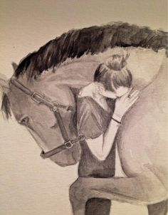 ImageFind images and videos on We Heart It - the app to get lost in what you love. Art Drawings Sketches Simple, Animal Sketches, Horse Drawings, Animal Drawings, Horse Sketch, Horse Wallpaper, Horse Artwork, Cute Horses, Canvas Art