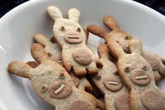 non-bento#3 Raving Rabbid cookies