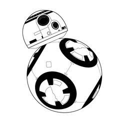 FREE DIY printable print and cut Star Wars BB-8 jpg ai eps