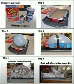 This is hilarious. I'm doing this for my brother since he was born on April fools day!