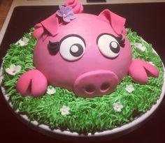Piggy Bank, Bakery, Birthday Cake, Lily, Money Box, Birthday Cakes, Money Bank, Orchids, Lilies