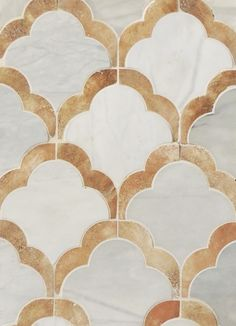Petite Alliance 7 By Tabarka Studio- Callacata and terra cotta floor tiles. So gorgeous! Use above the shower surround. Foyer Flooring, Stone Flooring, Stone Mosaic, Stone Tiles, Marble Mosaic, Marble Floor, Floor Patterns, Textures Patterns, Arabesque