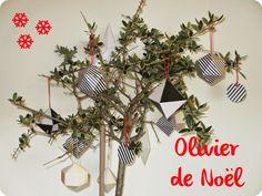 DIY - Décorations de Noël en papier