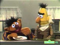 Classic Sesame Street   Ernie And Bert And A Piece of Cake - YouTube
