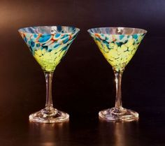 ET Crater Special Martinis by The Glass Forge. American Made. See the designer's work at the 2015 American Made Show, Washington DC. January 16-19, 2015. americanmadeshow.com #martiniglass, #glass, #americanmade, #barware