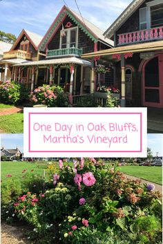 The easiest way to travel on a budget is to check out some local destinations. Oak Bluffs in Martha's Vineyard was just a ferry ride away and provided me with one of my favorite days of this summer.