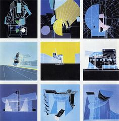 A house is a work of art: Kazuo Shinohara on penccil Modern Japanese Architecture, Japan Architecture, Architecture Drawings, Rendering Drawing, 1980s Art, Architecture Program, Famous Architects, Colorful Drawings, Collage