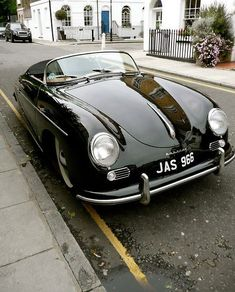 Porsche 356A Speedster its even got my name on its plate..
