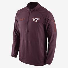 Nike College Hybrid Quarter-Zip (Virginia Tech) Men's Training Jacket