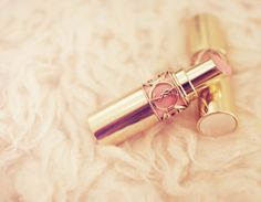 I will own a YSL lipstick soon ♥ such pretty packaging ♡ A little pricey but I need to try it ♥
